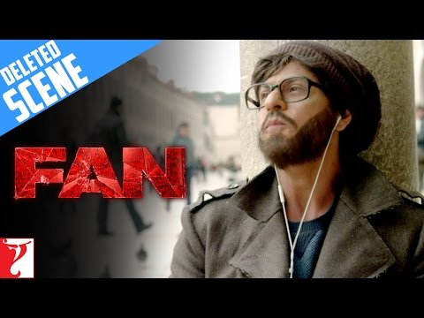 FAN | Deleted Scene 6 | Gaurav In Dubrovnik | Shah Rukh Khan