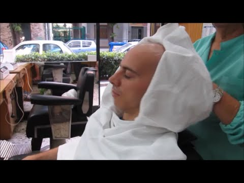 ASMR Barber shop: A complete and relaxing head shave