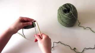 Knitting Tutorial for Beginners: The Purl Stitch
