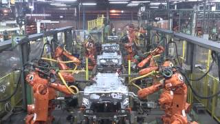 Spotwelding robots - Automotive industry