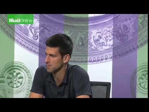 Novak Djokovic on coach Boris Becker...