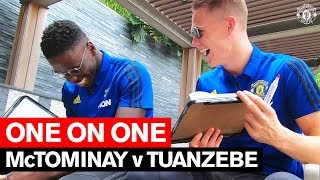 Scott McTominay v Axel Tuanzebe | One on One | Player Challenge | Manchester United