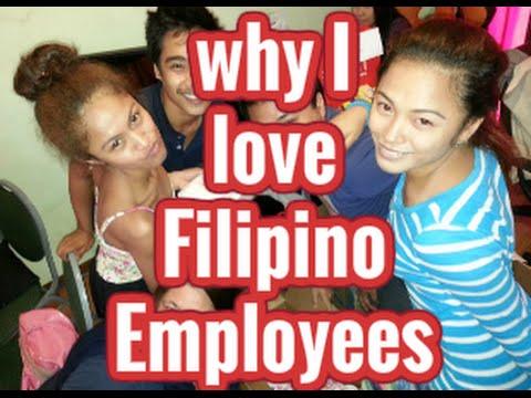 Why I love Filipino employees