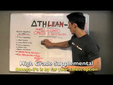 Supplements Review Part 3 - High Grade OMEGA-3s (Muscle Recovery ...