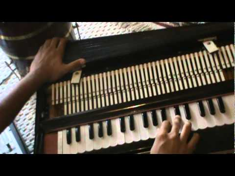 How To Play Harmonium - Kabhi Alvida Na Kehna Title Song - Learn Harmonium 8 video