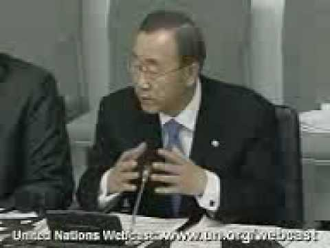 Secretary-General Ban Ki-moon presentation to the Inter-Parliamentary Union Part I
