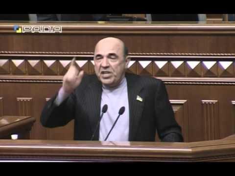 Рабинович в Раде: отправьте правительство в тюрьму и мы победим!