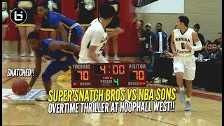 Was This A Buzzer Beater?! Overtime Thriller Between Shadow Mountain & Sierra Canyon!!