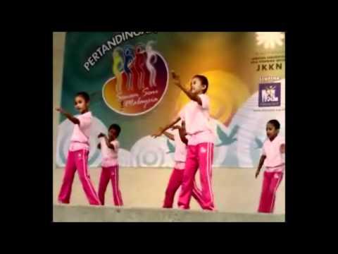Kumpulan Tunas Delima - Pertandingan Senam Seni 1 Malaysia video