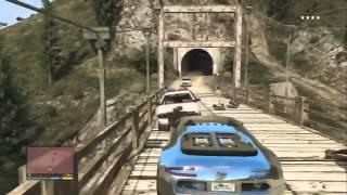 Погоня в GTA V Уровень БОГ