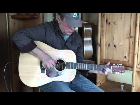 Dust in the wind  Kansas : 12string guitar fingerstyle instrumental