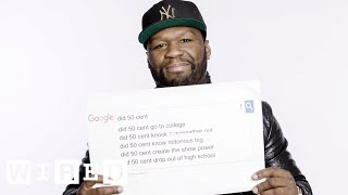 50 Cent Answers the Web's Most Searched Questions | WIRED