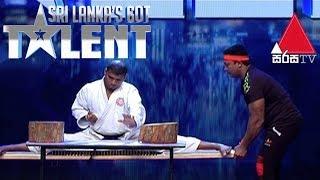 Karate Act by Sudarshana Deshapriya Sri Lanka's Got Talent Audition 01