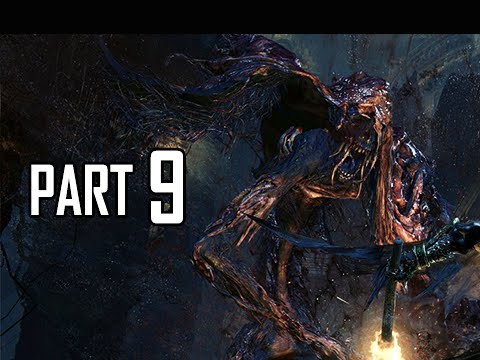 Bloodborne Walkthrough Part 9 - Blood Starved Beast Boss (ps4 Gameplay Commentary) video