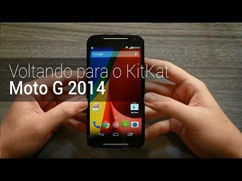 Como voltar para o Android KitKat no Moto G 2014   TudoCelular.com