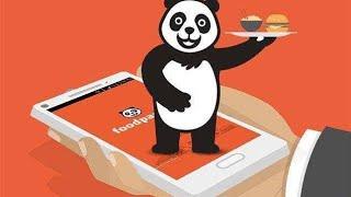 Food panda  app set location