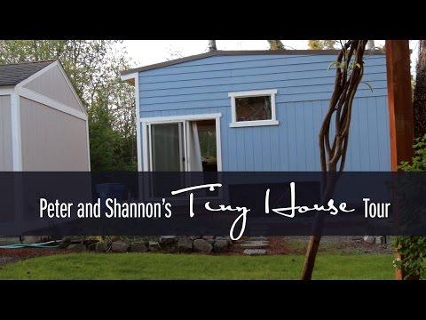 Peter & Shannon's Tiny House Tour