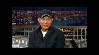 """Jet Li on """"Late Night with Conan O'Brien"""" - 5/6/05"""