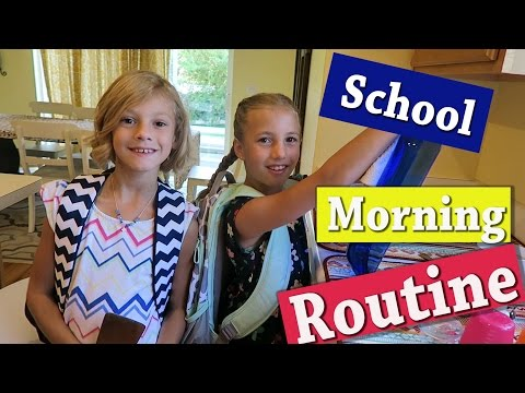 School Morning Routine