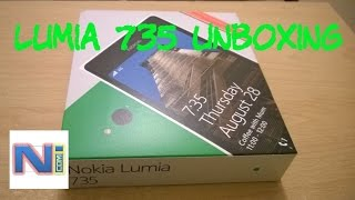 Nokia Lumia 735 Unboxing and First Look