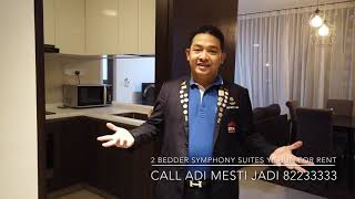 3 Bedder Symphony Suites for rent! Call ADI MESTI JADI 82233333
