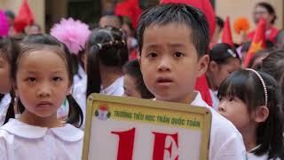 Lễ khai giảng năm học mới 2017 - 2018 trường Tiểu học Trần Quốc Toản