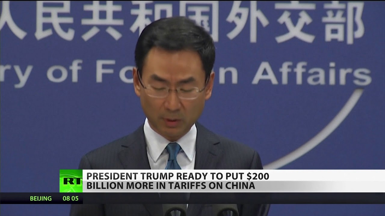 Trump to Tariff Additional $200 Billion In Chinese Imports