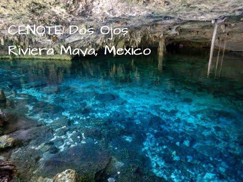 Manu&Rudi auf Reisen - Ausflug Cenote Dos Ojos