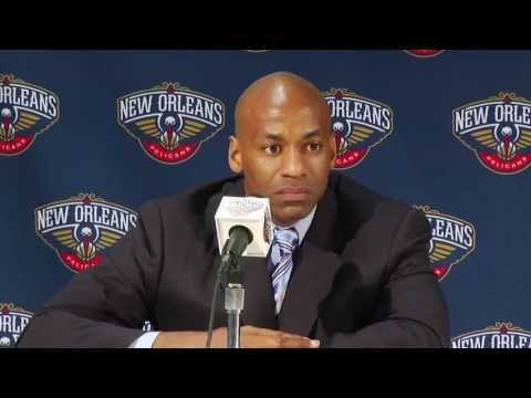 2013 New Orleans Pelicans Season Recap Press Conference
