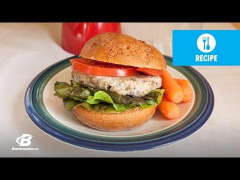 Healthy Recipes: Italian Turkey Burgers