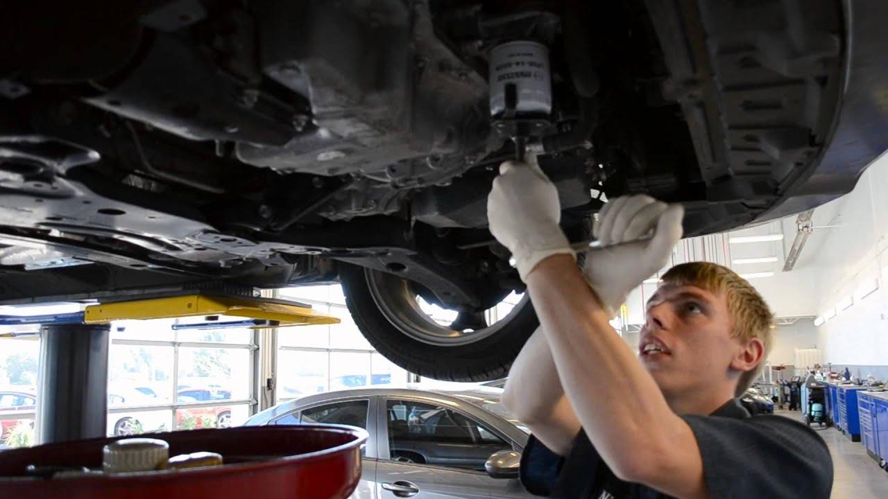 Synthetic Vs Regular Oil >> How to Change Mazda motor Oil- Denver Mazda   McDonald Mazda - YouTube