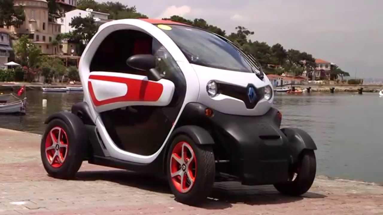 Elektrikli araba Renault Twizy Türkiye lansman - tanıtım ...