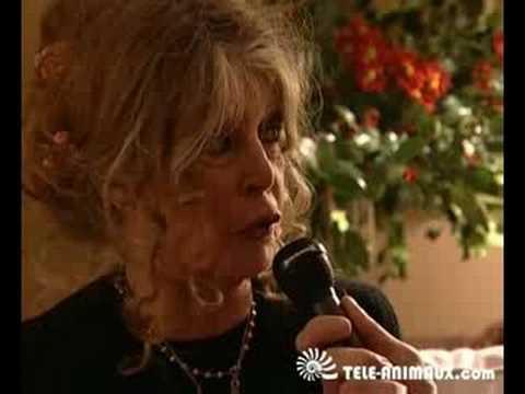 Emouvante Brigitte Bardot