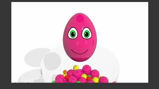 Learn Colors and Learn Number with Surprise Eggs Microwave Oven for Children   Cars For Kids TV