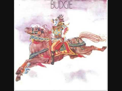 Budgie - Nude Disintegrating Parachutist Woman