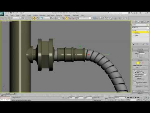 Bend Modifier in Autodesk 3Ds Max