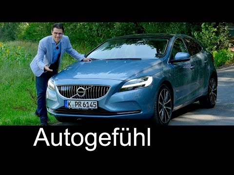 Volvo V40 Facelift With Thor S Hammer Full Review Test