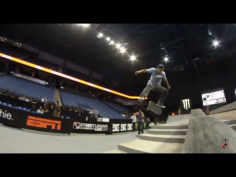 Street League 2012: Ontario Practice Quick Clip with Paul Rodriguez #2