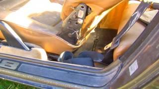 Porsche 928S Take Seats Apart