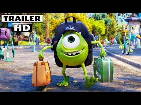 Monsters University Trailer Latino (2013)