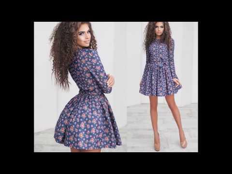 Какие платье сейчас модные