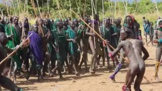 Donga Stick Fight -Surma Warriors