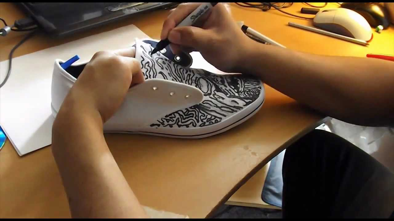 Shoes Walking Drawing The Walking Dead Drawing on