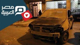 مصر العربية | اثار انفجار قنبلة أمام نادى القضاة بالاسكندرية
