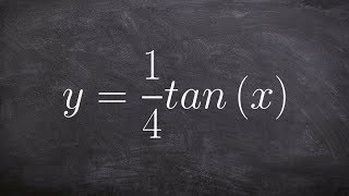How Do You Graph the Tangent Function Multiplied by a Number