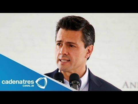 Enrique Peña Nieto celebra detención del  Z40 / capturan a Miguel Ángel Treviño Morales