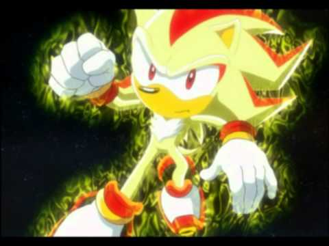 Sonic X Sonic VS. Shadow  Full fight HD