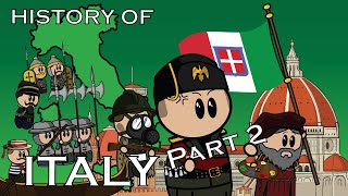 The Animated History of Italy | Part 2