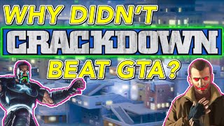 Why Crackdown Did Not Kill Grand Theft Auto