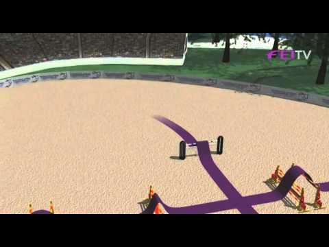 European Jumping championships 2011 – Day 2 Course Walk